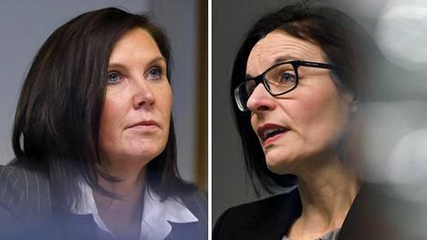 Stora Enson Kati ter Horst ja UPM:n Anu Ahola hallitsevat Suomen paperiteollisuutta.