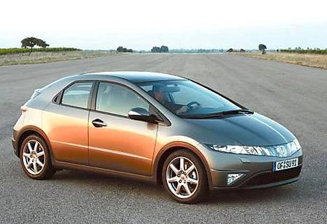 Honda aloitti uuden Civicin ennakkomyynnin