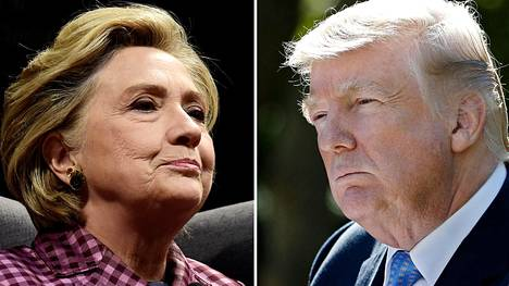 Hillary Clinton ja Donald Trump
