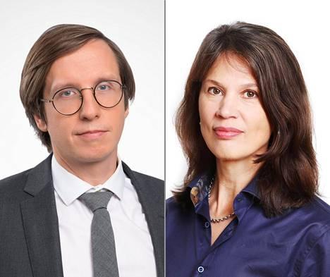 Etlan Markku Lehmus ja Palkansaajien tutkimuslaitoksen Elina Pylkkänen uskovat talouden lähtevän voimakkaaseen nousuun lähikuukausina.