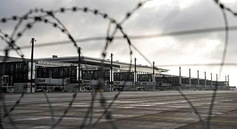 Berliini-Brandenburgin lentokenttää on rakennettu vuodesta 2006.