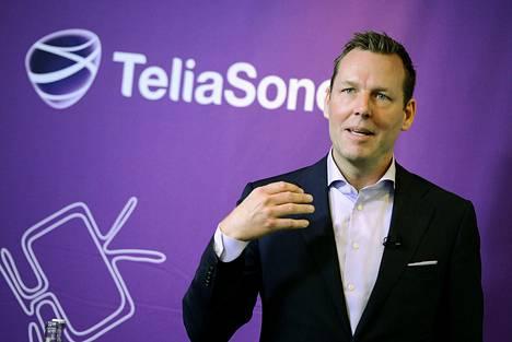 TeliaSoneran toimitusjohtaja Johan Dennelind.