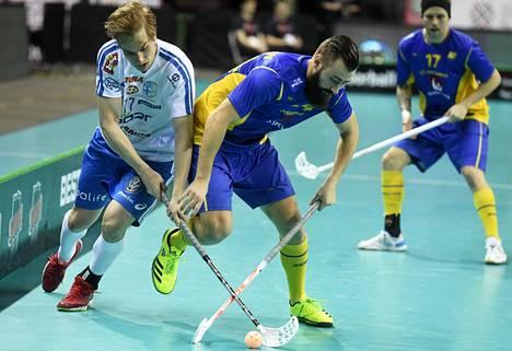 Classicin Sami Johansson (vas.) kuuluu myös maajoukkueeseen. Hän pelasi MM-finaalissa Ruotsia vastaan.