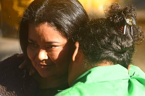 Vapauteen päässyt Maira Verónica Figueroa Marroquín aikoo taistella naisten oikeuksien puolesta.