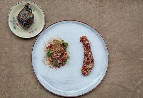 Kulinaarinen mestariluomus, sanoi kriitikko ravintola Grönin poroannoksesta.
