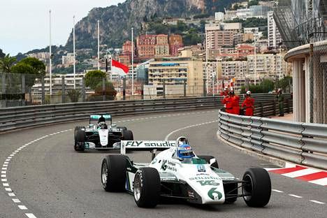 Rosbergit ajoivat yhdessä Monacossa 24. toukokuuta.