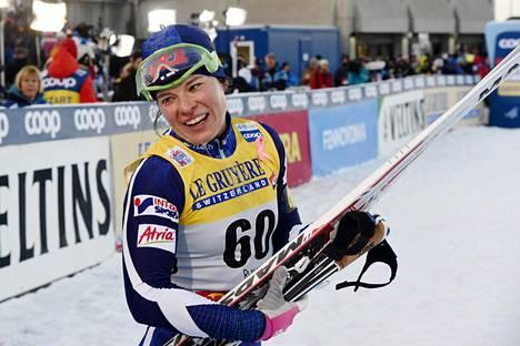 Viime sunnuntaina Krista Pärmäkoski sijoittui Rukalla perinteisen kympillä kuudenneksi.