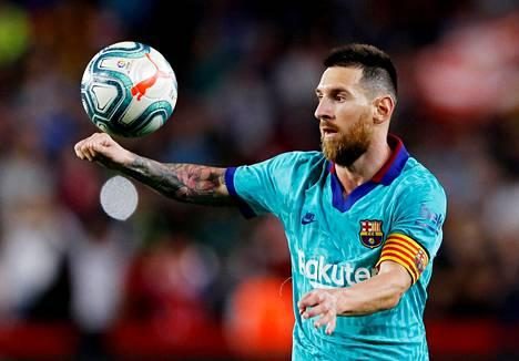 Lionel Messi toipuu pohjevammastaan ja samaan aikaan Barcelonan peli sakkaa.