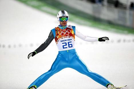 Janne Ahosen todennäköisesti viimeiset olympialaiset päättyivät pettymykseen.