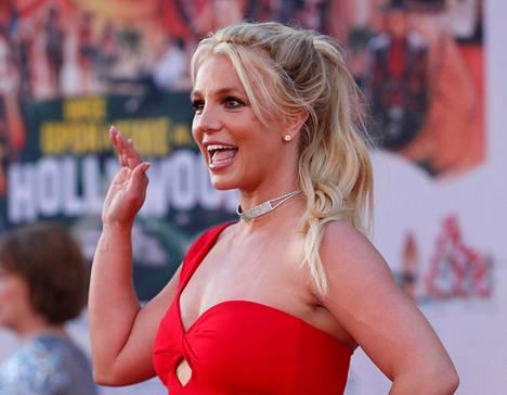 Britney Spears kuvattuna elokuvan Once Upon a Time In Hollywood ensi-illassa vuonna 2019.
