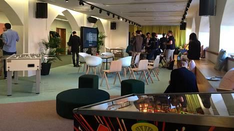 Microsoft avasi Flux-työtilan Helsingin Korkeavuorenkadulla.