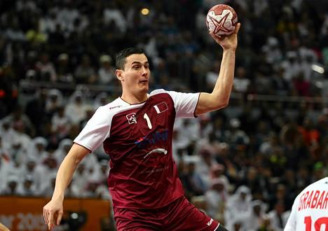 Montenegrolaissyntyinen Zarko Markovic edustaa nykyään Qataria.