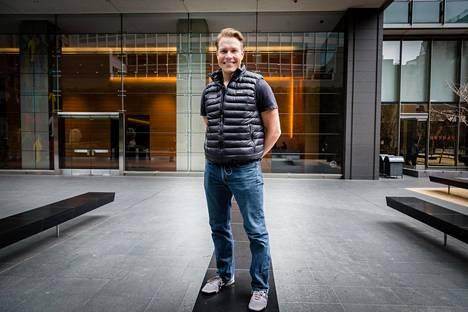 """""""Vielä kaksi kolme vuotta, niin olemme kaikkien tuntema nimi"""", Sami Inkinen lupaa. Hänen startup-yhtiönsä Virta Health hoitaa diabeetikoita."""
