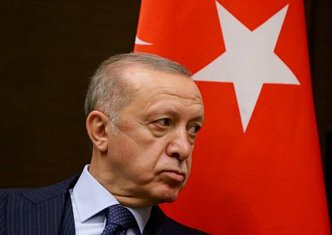 Turkish President Recep Tayyip Erdoğan expressed concern at the UN nature conference about refugee flows caused by nature loss.  Erdoğan photographed on September 29th.