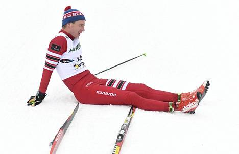 Ville Nousiainen on kovemmassa kunnossa kuin itse uskoikaan. SM-kisojen 15 km:llä hän ylsi kymmenenneksi.