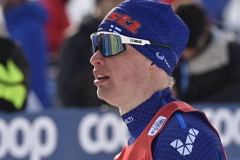 Iivo Niskasen hiihto kulkee vaihtelevasti pohjoisen kiertueella.
