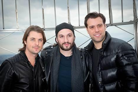 Swedish House Mafia vuonna 2013.