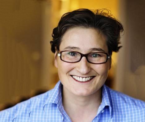 Handelsbankenin pääekonomisti Tiina Helenius.