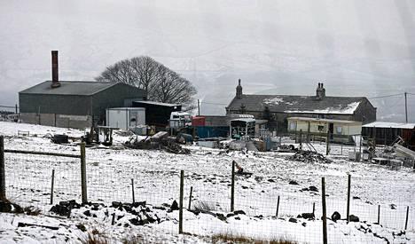 Poliisi teki ratsian Länsi-Yorkshiren Todmordenissa sijaitsevaan teurastamoon jo tiistaina.