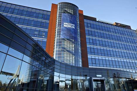 Nokian pääkonttori Karakalliossa Espoossa.