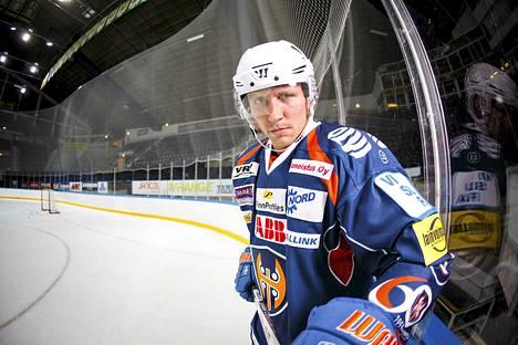 Veli-Matti Savinainen oli iskussa tiistaina. Kuva elokuulta.
