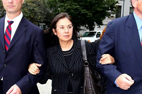 Glafira Rosales was sentenced and was no longer involved in the art.  The other participants slipped abroad.