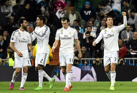 Schalke laittoi Real Madridin koville Mestarien liigan neljännesvälierissä.