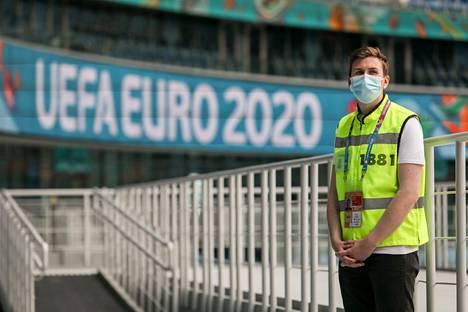 Huuhkajat pelaa Pietarissa 16. ja 21. kesäkuuta. Gazprom Arenalla muun muassa mitataan jokaisen stadionille saapuvan ruumiinlämpö koronaviruspandemian takia.