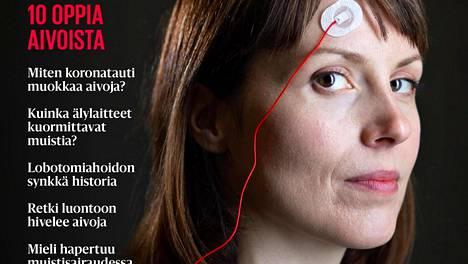 Teema-lehdessä haastatellaan muun muaas Suomen tunnetuimpiin aivotutkijoihin kuuluvaa Katri Saarikiviä.