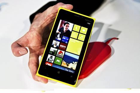 Lumia 920 julkistettiin keskiviikkona New Yorkissa.