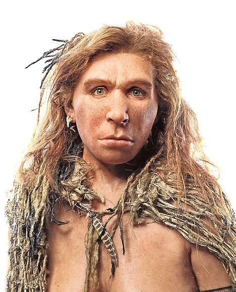 Neandertalit käyttivät työssä hampaitaan.