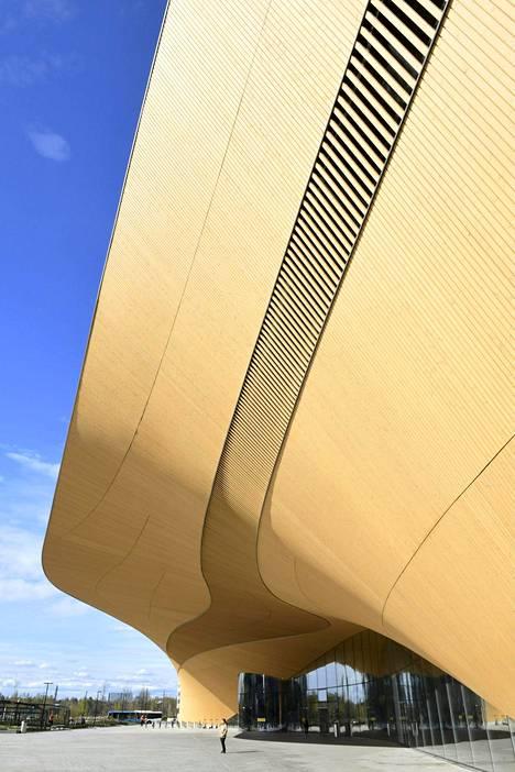 Helppo läpikulkutalo Oodi voisi olla esikuva uudelle suunnittelun museolle.