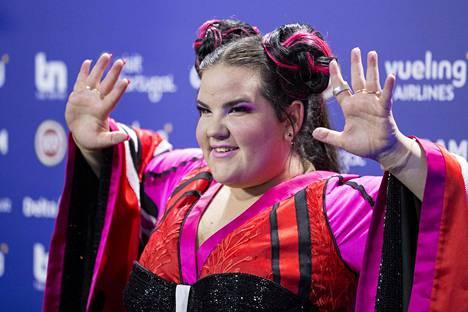 Israelin edustaja Netta voitti edelliset, Lissabonissa järjestetyt Euroviisut.