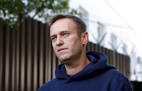 Venäläinen oppositiopoliitikko Aleksei Navalnyi