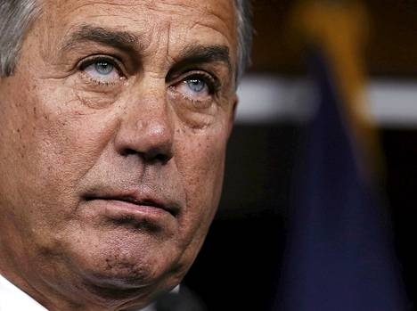 Venäjän vastapakotelistalla on myös Yhdysvaltain edustajainhuoneen puhemiehen, John Boehnerin nimi.
