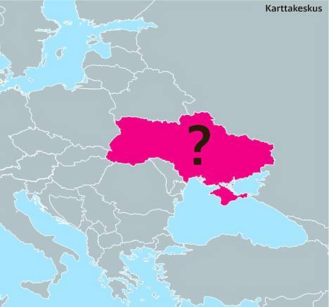 5. EU ja Venäjä ovat kamppailleet tästä 45 miljoonan asukkaan maasta. EU tahtoisi solmia sen kanssa yhteistyösopimuksen, Venäjä tulliliiton.