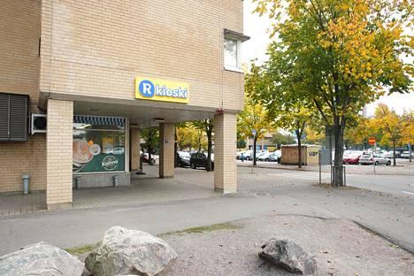 R-kioski Leppävaarassa Espoossa.