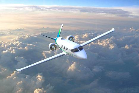 Yhdysvaltalainen Zunum kertoo toimittavansa ensi vuosikymmenellä hybridilentokoneen matkustajaliikenteeseen.