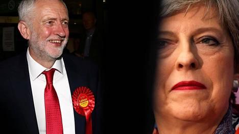 Työväenpuolueen johtaja Jeremy Corbyn on sen vaalien suuri voittaja, oli lopullinen paikkajako mikä tahansa. Vaalitulos on henkilökohtainen tappio pääministeri Theresa Maylle.