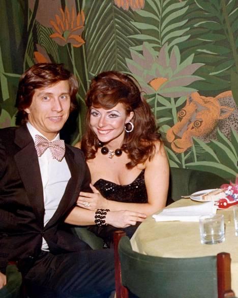 Aviopari Maurizio Gucci ja Patrizia Reggiani vuonna 1972.
