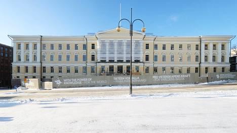 Helsingin yliopiston päärakennusta remontoidaan. Kohennettavaa riittäisi myös opetuksen määrässä, kertoo tuore opiskelijakysely.