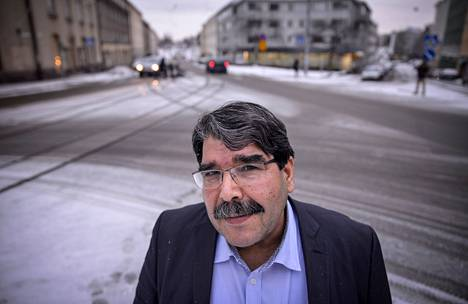 Syyrian suurimman kurdiryhmittymän johtaja Saleh Muslim vieraili viime viikolla Suomessa.