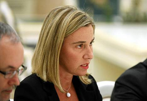 Italian ulkoministeri Federica Mogherini