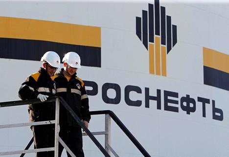 Venäjän valtion öljy-yhtiön Rosneftin yksikkö on asetettu Yhdysvaltain pakotelistalle.