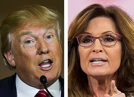 Donald Trump ja Sarah Palin
