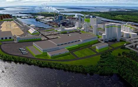 Metsä Groupin biotuotetehdas Kemissä sai ympäristöluvan.