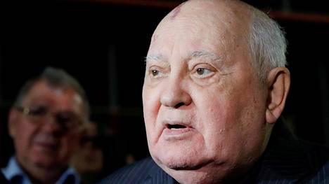 Neuvostoliiton entinen johtaja Mihail Gorbatšov.