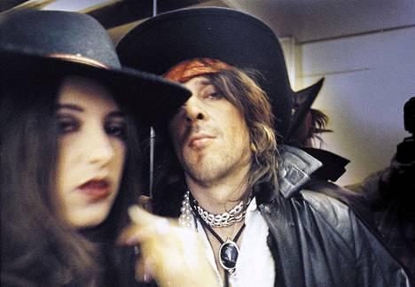 Angela ja Andy McCoy Vaasassa 1995.