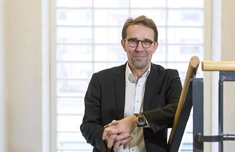 Kaupunkiympäristön toimialajohtaja Mikko Aho.