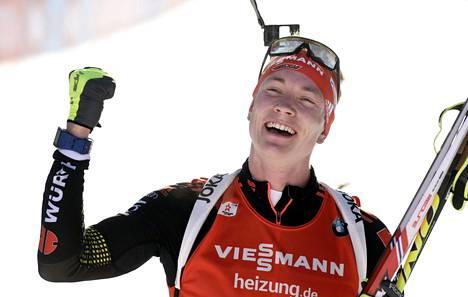Benedikt Doll tuuletti voittoa.